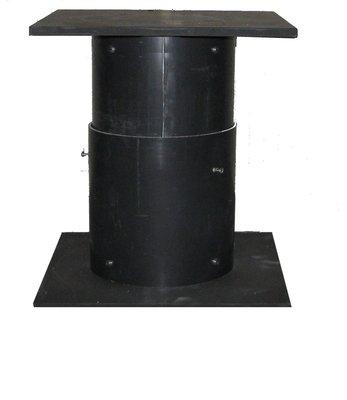Uitschuifbare zuil 25 tot 40 cm
